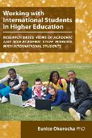 Working with International Students in Higher Education