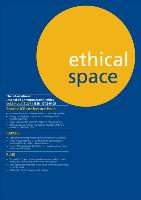 Ethical Space Vol.8 No.1-2