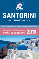 book: A to Z guide to Santorini 2019