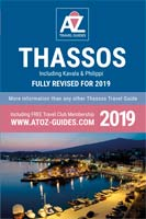 book: A to Z guide to Thassos 2019, including Kavala and Philippi