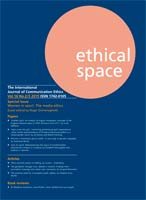 Ethical Space Vol.16 Issue 2/3