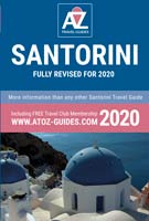 book: A to Z guide to Santorini 2020