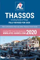 book: A to Z guide to Thassos 2020, including Kavala and Philippi